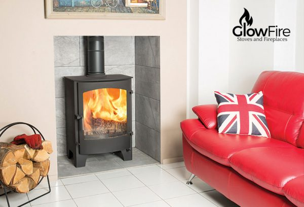 Byland Multi fuel fire stove, Town and Country at Glow Fire Stoves, Carmarthenshire