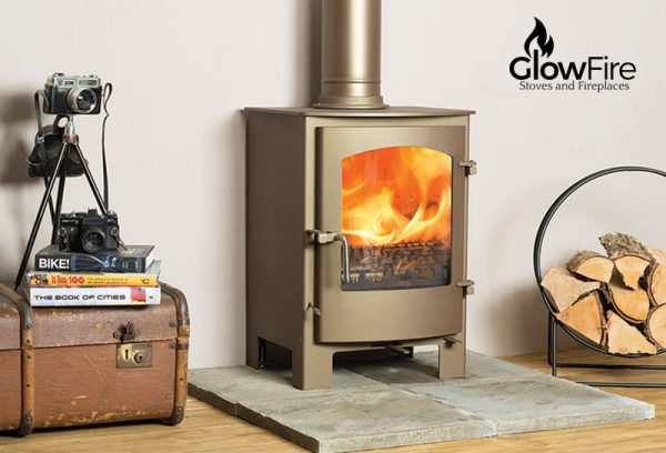 Caedmon Multi fuel fire stove, Town and Country at Glow Fire Stoves, Carmarthenshire