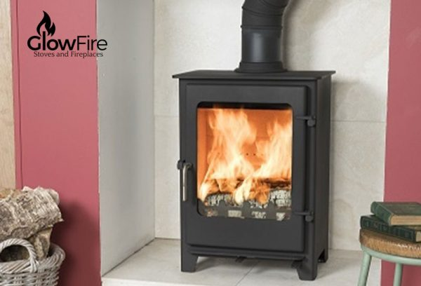 Crompton Multi fuel fire stove, Town and Country at Glow Fire Stoves, Carmarthenshire