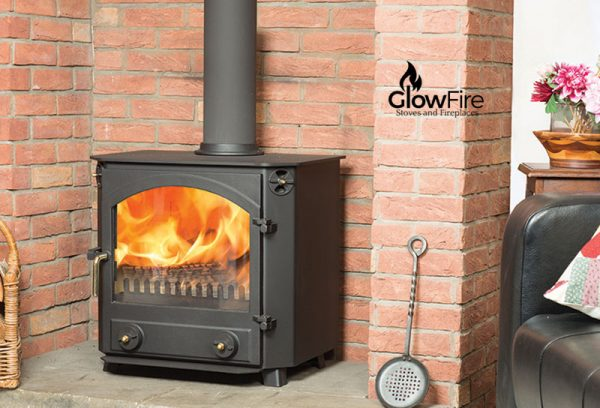 Glaisdale Multi fuel fire stove, Town and Country at Glow Fire Stoves, Carmarthenshire