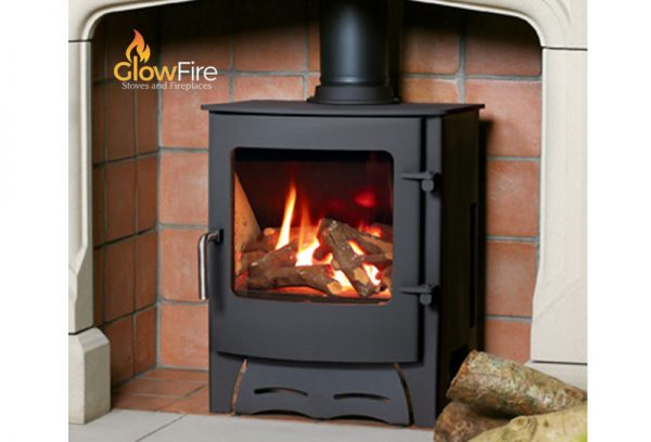 Kirkdale gas fire stove, Town and Country at Glow Fire Stoves, Carmarthenshire