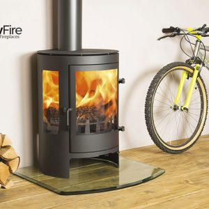 Langdale Multi fuel fire stove, Town and Country at Glow Fire Stoves, Carmarthenshire