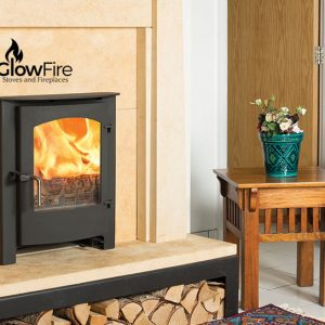 Rosedale Inset Multi fuel fire stove, Town and Country at Glow Fire Stoves, Carmarthenshire