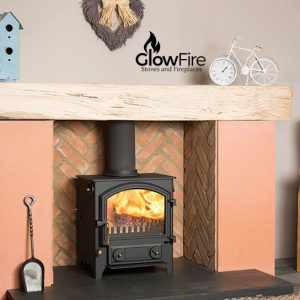 The Little Thurlow Multi fuel fire stove, Town and Country at Glow Fire Stoves, Carmarthenshire