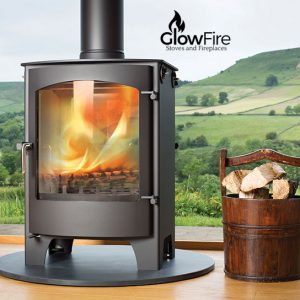 Welburn Multi fuel fire stove, Town and Country at Glow Fire Stoves, Carmarthenshire