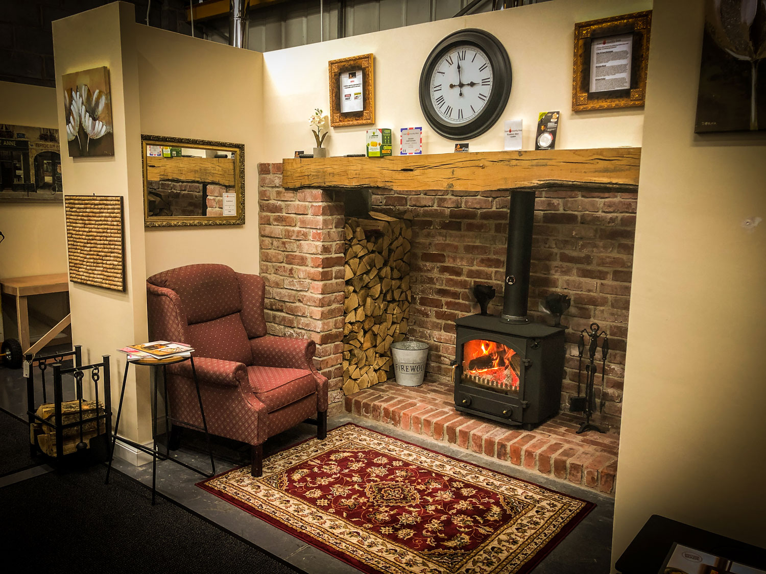 Welcome To GlowFire Stoves and Fireplaces in Carmarthen, West Wales. Retailing Clock, Town and Country, multi fuel stoves and installation.