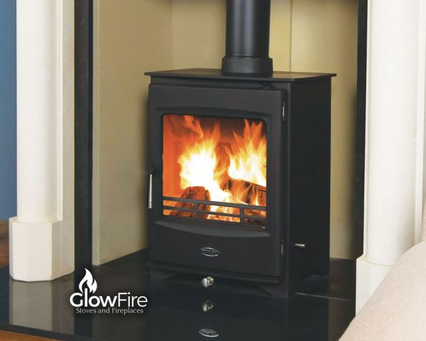 Lincoln Multi Fuel fire stove, Henley Stoves at Glow Fire Stoves, Carmarthenshire