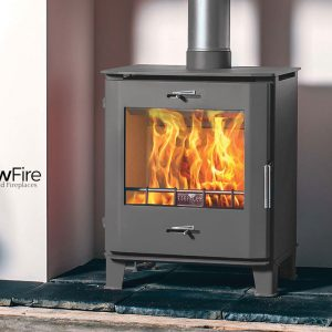 Cheltenham Multi Fuel fire stove, Henley Stoves at Glow Fire Stoves, Carmarthenshire
