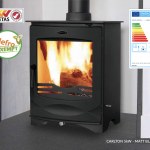 Carlton Multi Fuel fire stove, Henley Stoves at Glow Fire Stoves, Carmarthenshire