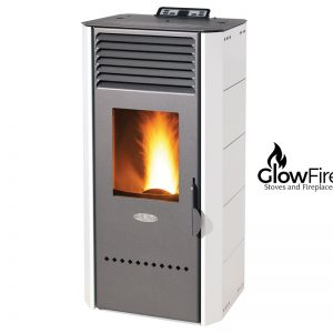 Bio 80 Pellet Stove at GlowFire stoves and fireplaces, Johnstown, Carmarthen