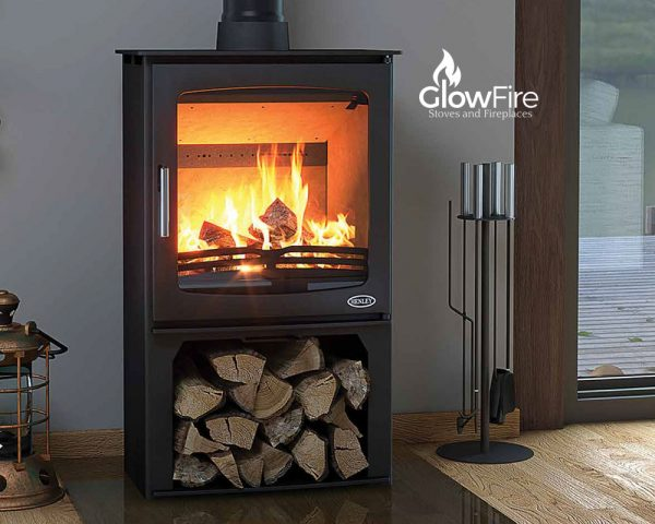 Hazelwood Multi Fuel fire stove, Henley Stoves at Glow Fire Stoves, Carmarthenshire
