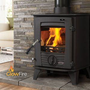 Druid 5kw Multi Fuel fire stove, Henley Stoves at Glow Fire Stoves, Carmarthenshire