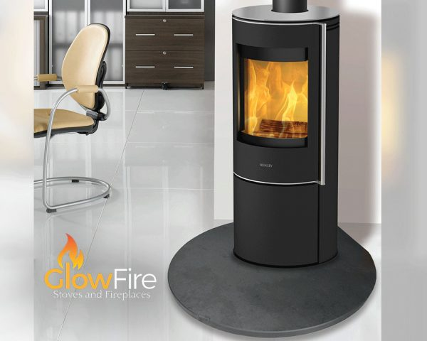 Barcelona 5kw Multi Fuel fire stove, Henley Stoves at Glow Fire Stoves, Carmarthenshire