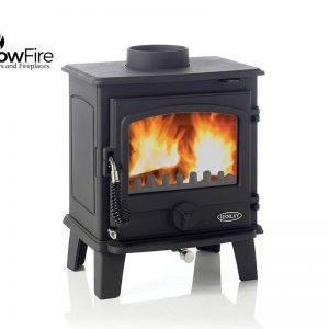 Eden 5kw Multi Fuel fire stove, Henley Stoves at Glow Fire Stoves, Carmarthenshire