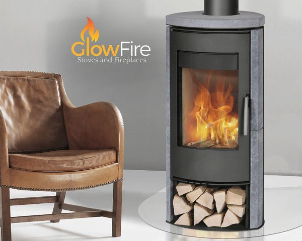 Zanzibar Soapstone 5kw Multi Fuel fire stove, Henley Stoves at Glow Fire Stoves, Carmarthenshire