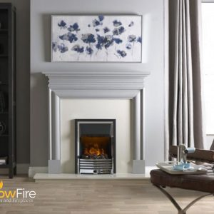 Dimplex Flagstaff at Glowfire Stoves and Fireplaces Carmarthen