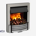 Dimplex Sacramento Inset Chrome at Glowfire Stoves and Fireplaces Carmarthen