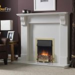 Dimplex Whitsbury Inset Chrome at Glowfire Stoves and Fireplaces Carmarthen