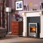 Dimplex Whitmore Inset Chrome at Glowfire Stoves and Fireplaces Carmarthen