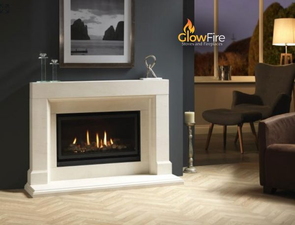 Valor Inspire 800 Abruzzo at Glowfire Stoves and Fireplaces Carmarthen