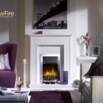 Dimplex Stamford Inset Chrome at Glowfire Stoves and Fireplaces Carmarthen
