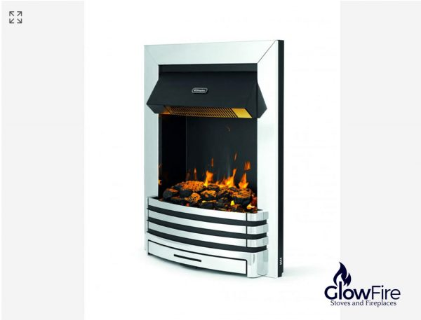 Dimplex Penngrove Inset Chrome at Glowfire Stoves and Fireplaces Carmarthen