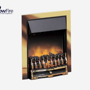Dimplex Wynford Inset Chrome at Glowfire Stoves and Fireplaces Carmarthen