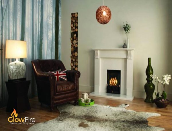 Valor Majestic Black Engine at Glowfire Stoves and Fireplaces Carmarthen