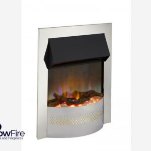 Dimplex Pomtree Inset Chrome at Glowfire Stoves and Fireplaces Carmarthen