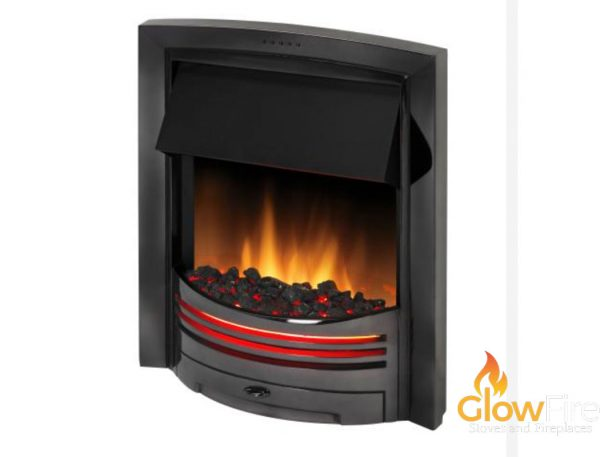 Dimplex Adagio Black Nickel at Glowfire Stoves and Fireplaces Carmarthen