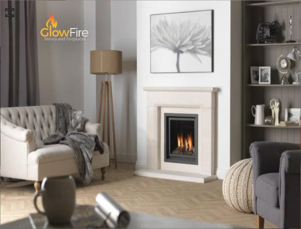 Valor Inspire 500 Vicenza at Glowfire Stoves and Fireplaces Carmarthen