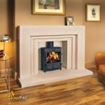 FDC5 Wide Multifuel Stoves at GlowFire Stoves and Fireplaces Carmarthen